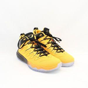 Nike Air Jordan Orange & Black Shoes